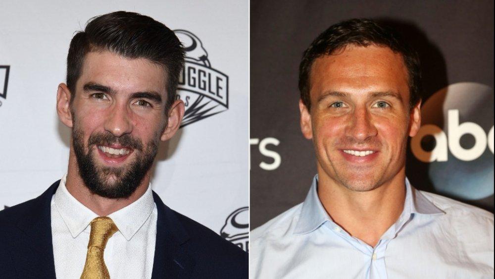 Michael Phelps och Ryan Lochte