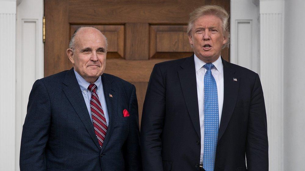 Donald Trump och Rudy Giuliani