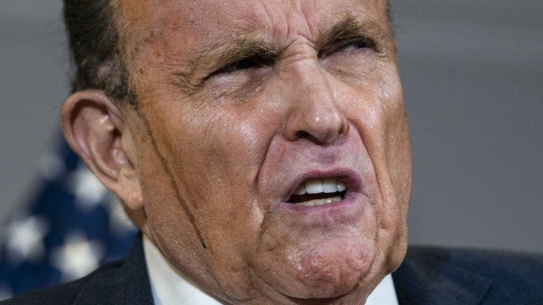 Rudy Giuliani svettade