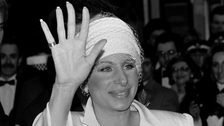 Barbra Streisand vid premiär
