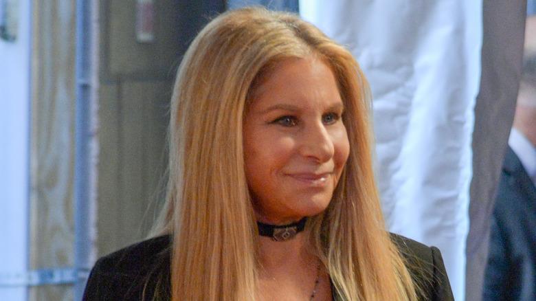 Barbra Streisand vid evenemanget