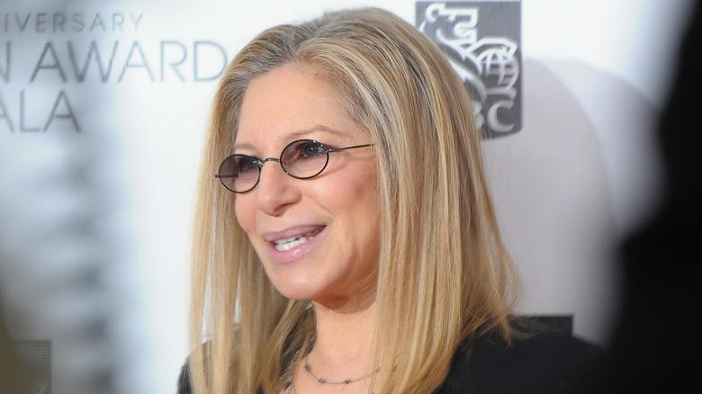 Barbra Streisand vid ett evenemang