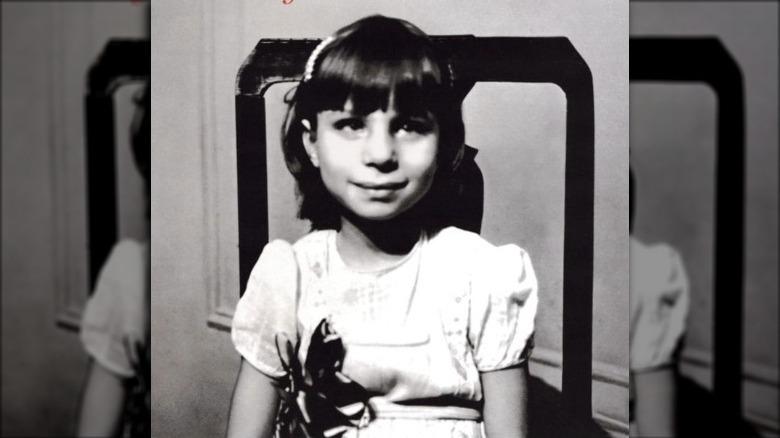 Unga Barbra Streisand på skivomslag