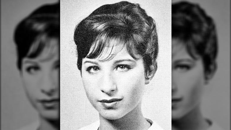 Barbra Streisand gymnasium årsbok foto