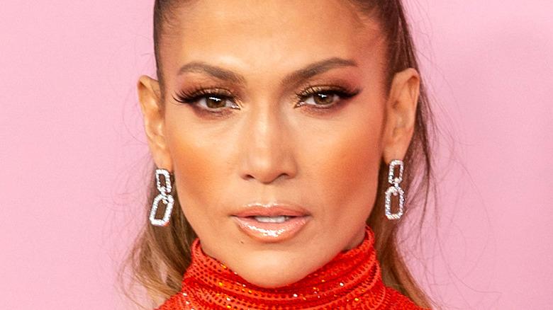 Jennifer Lopez naken läpp