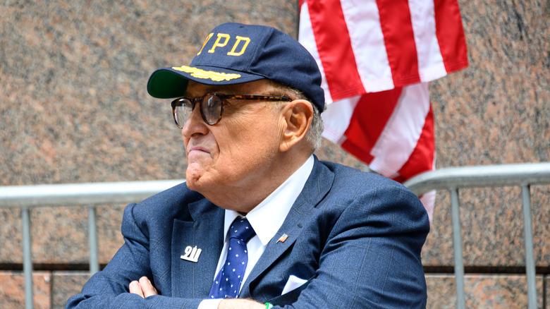 Rudy Giuliani vid en minnesceremoni den 9 september