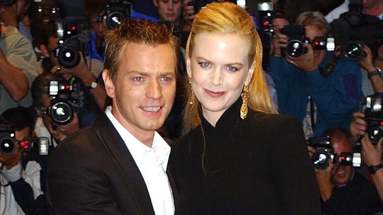 Ewan McGregor na Nicole Kidman kwenye PREMIERE ya London ya Moulin Rouge