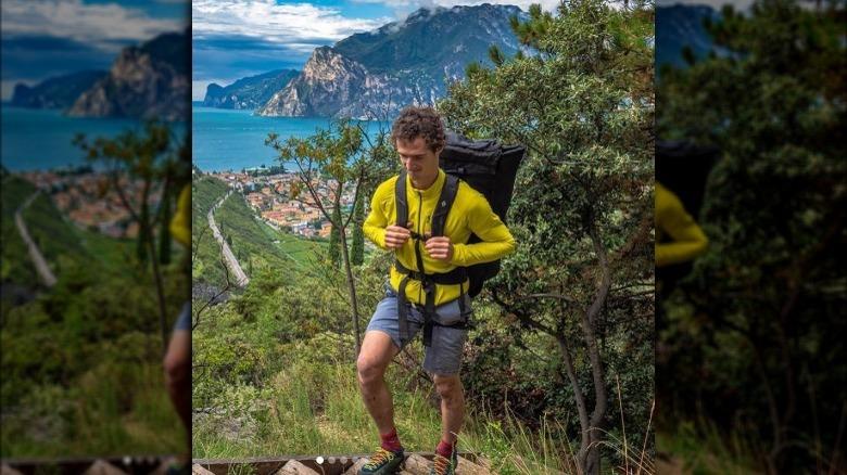 Adam Ondra vandrar