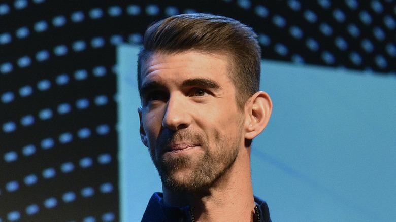 Michael Phelps på scenen
