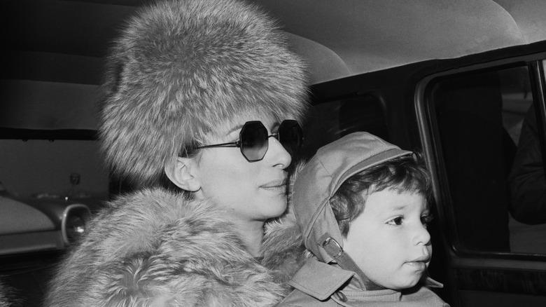 Barbra Streisand och Jason Gould