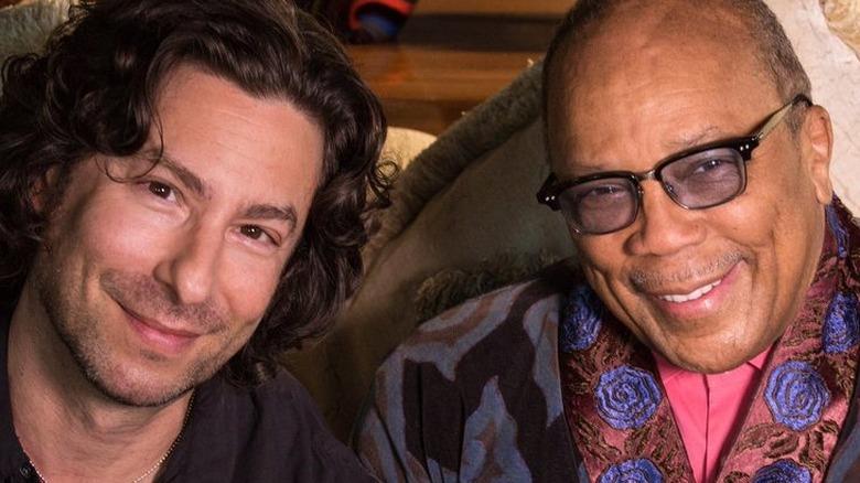Jason Gould och Quincy Jones