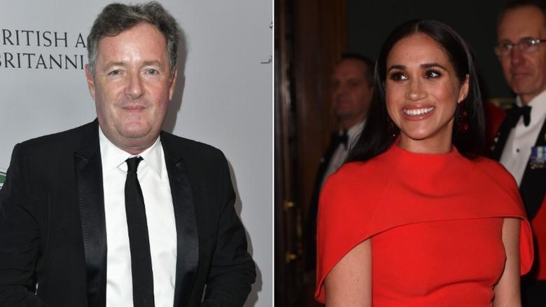 Piers Morgan och Meghan Markle