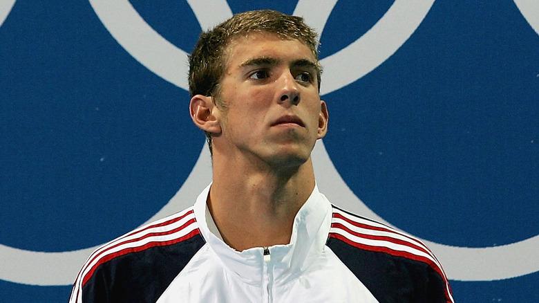 Michael Phelps i Aten