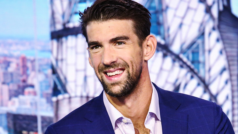 Michael Phelps i en talkshow