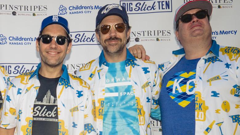 Paul Rudd, Jason Sudeikis, Eric Stonestreet på The Big Slick
