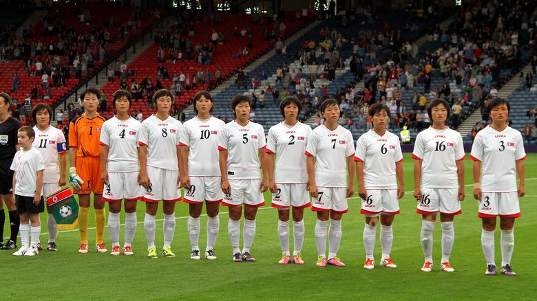 Nordkoreas kvinnafotbollslag vid OS 2012