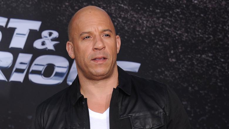 Vin Diesel på premiär