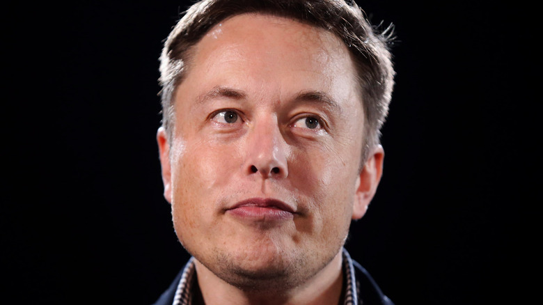 Elon Musk vid ett evenemang