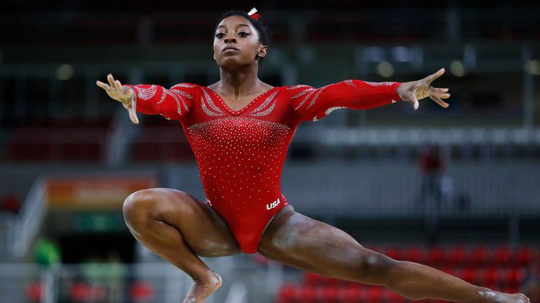 Simone Biles vid OS 2016