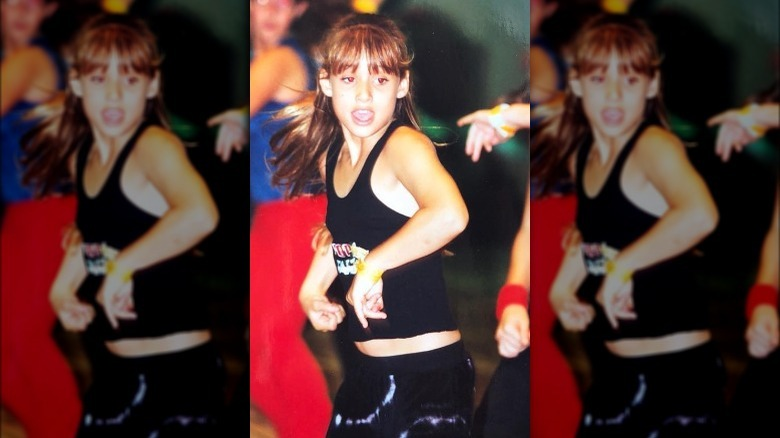 Montana Tucker dansar som barn