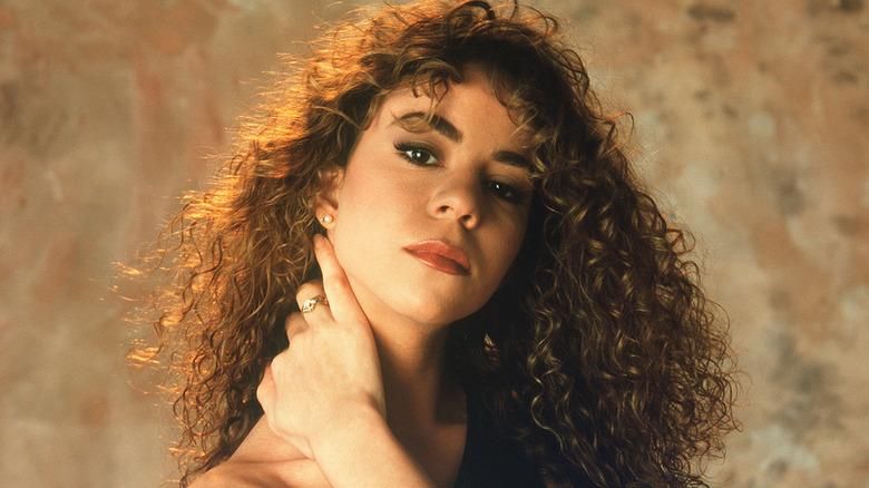 Mariah Carey poserade 1990