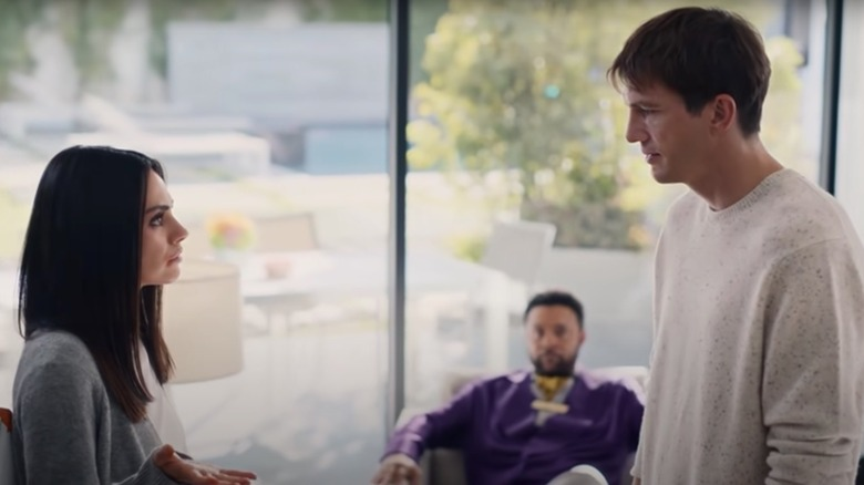 Mila Kunis, Asthon Kutcher i Cheetos-reklam