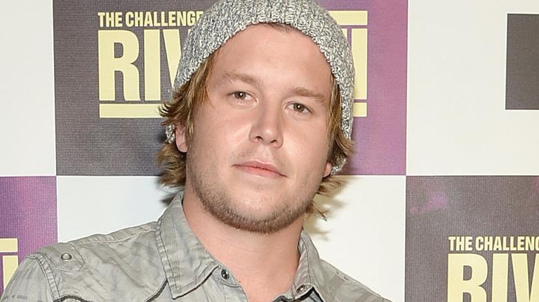 Ryan Knight vid ett MTV-evenemang