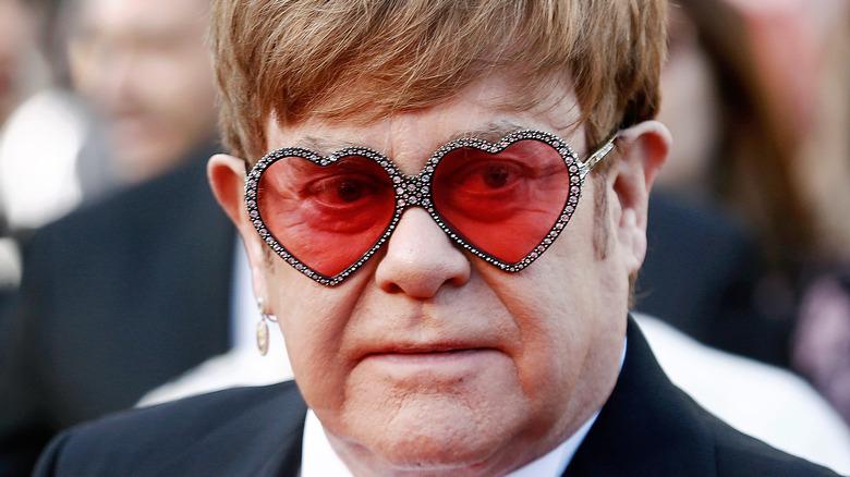 Elton John på röda mattan