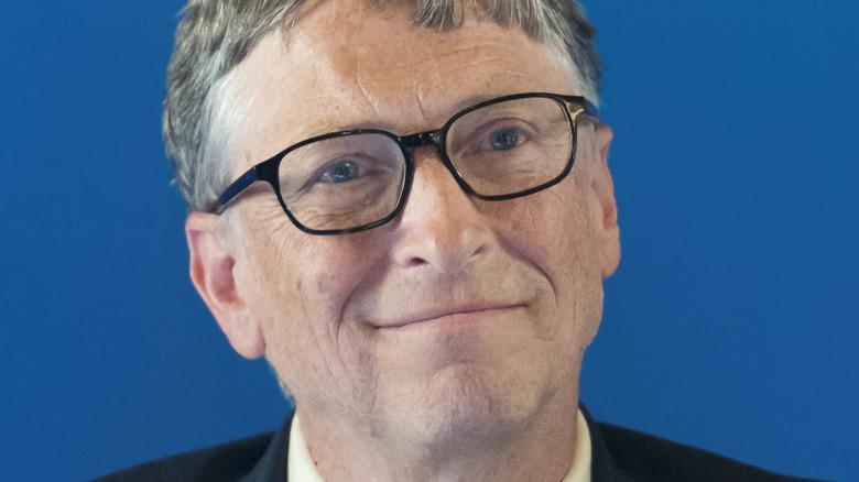 Bill Gates ler vid evenemanget