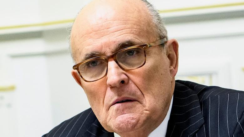 Rudy Giuliani vid ett evenemang
