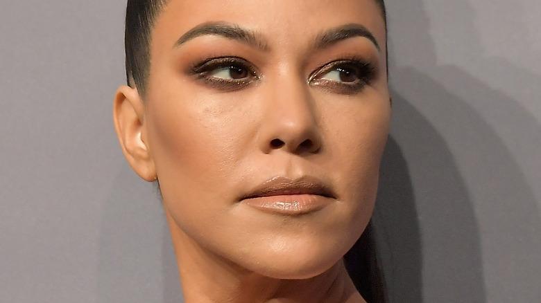 Kourtney Kardashian på den röda mattan