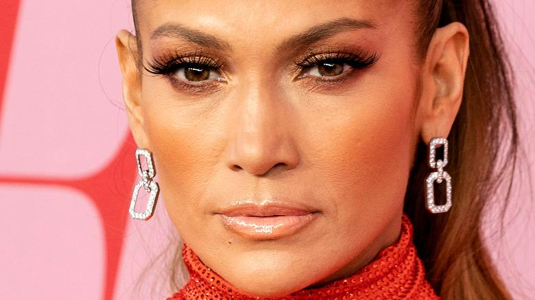 Jennifer Lopez på den röda mattan
