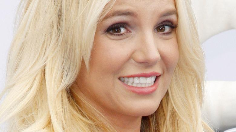 Britney Spears ler efter kameror