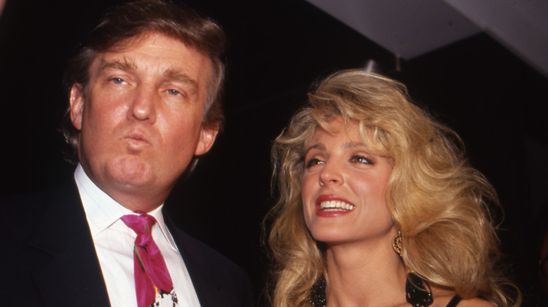 Donald Trump och Marla Maples