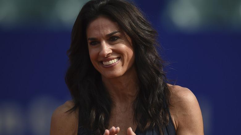 Gabriela Sabatini leende tennisturnering