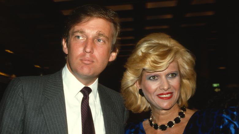 Donald Trump och Ivana Trump på evenemanget