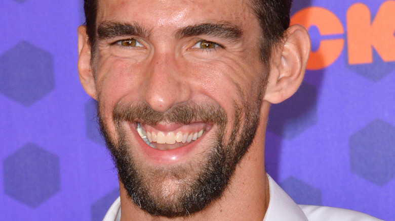 Michael Phelps leende